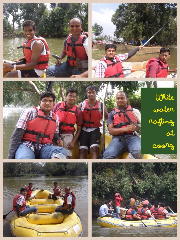 2012 white water rafting at coorg