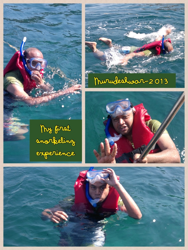 2013 snorkeling at murudeshwar