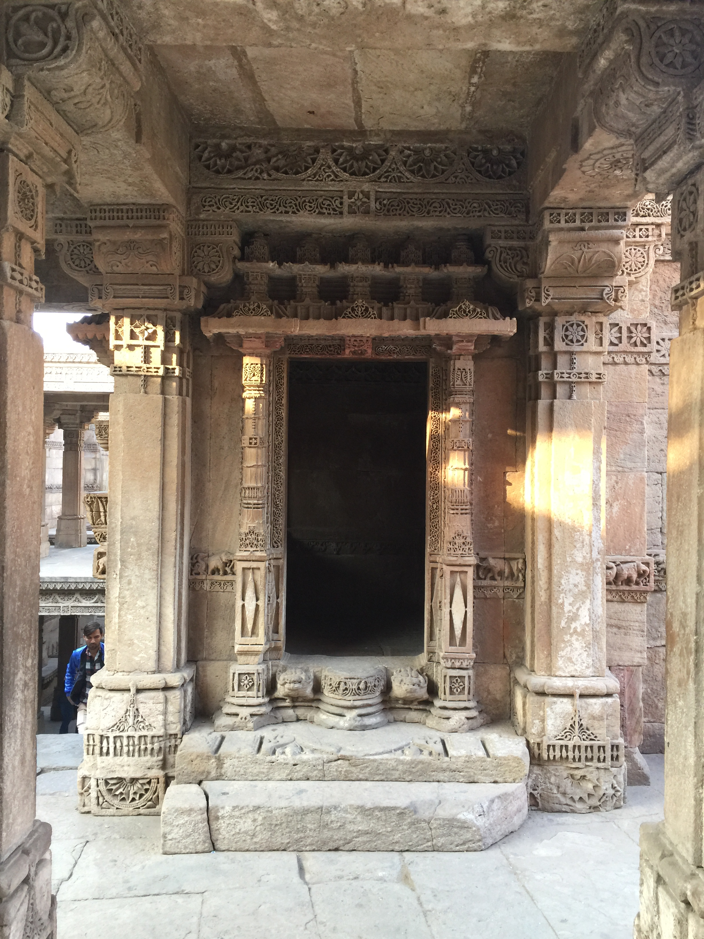 adalaj - a small room like structure in basement one