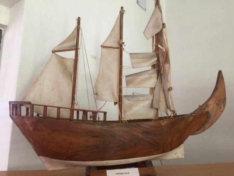 exhibit at poompuhar museum